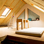 House Attic Under Construction
