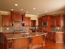 Kitchen In Wooden Finish